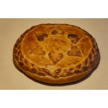Пирог «Курага в творожном креме»