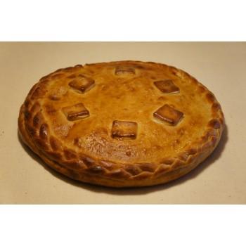 Пирог «Вишня в творожном креме»