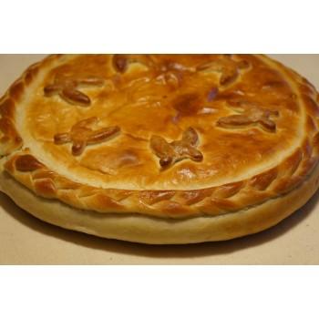 Пирог «Грибной с картофелем и сыром»