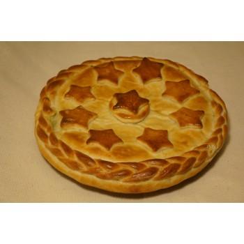Пирог «Куриный с брокколи»