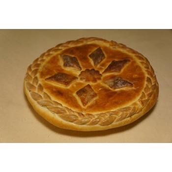 Пирог «Мясной с капустой»